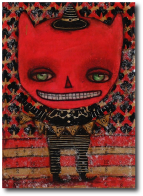 "Wicked Devil Danita, 2012 5"" x 7"""